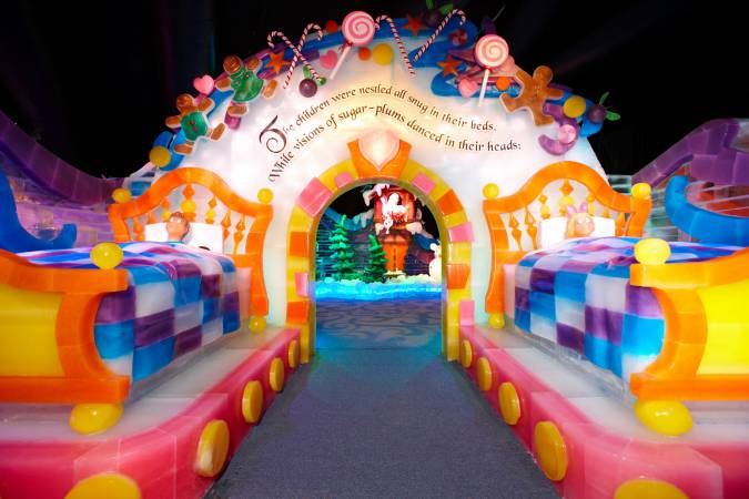 Gaylord National's ICE_TwasTheNight