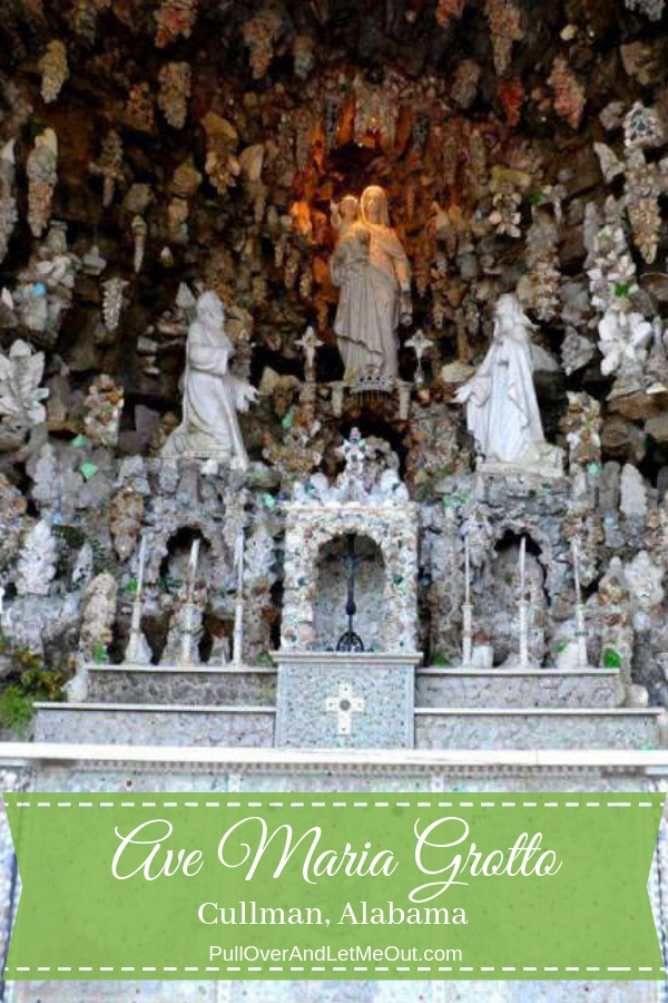 """Nestled along a wooded trail in what was once a quarry, the Grotto of the Blessed Virgin Mary is surrounded by 125 reproductions of famous buildings and bible scenes. Brother Joseph lovingly crafted these """"Miniature Miracles"""" in the woods which attracted visitors from all over."""