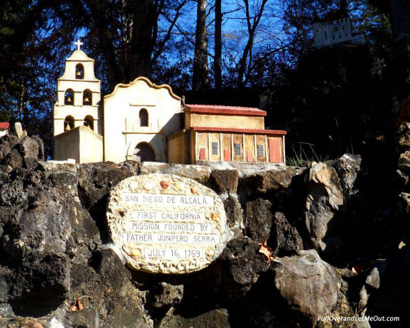 California Mission Ave Maria Grotto Cullman, AL