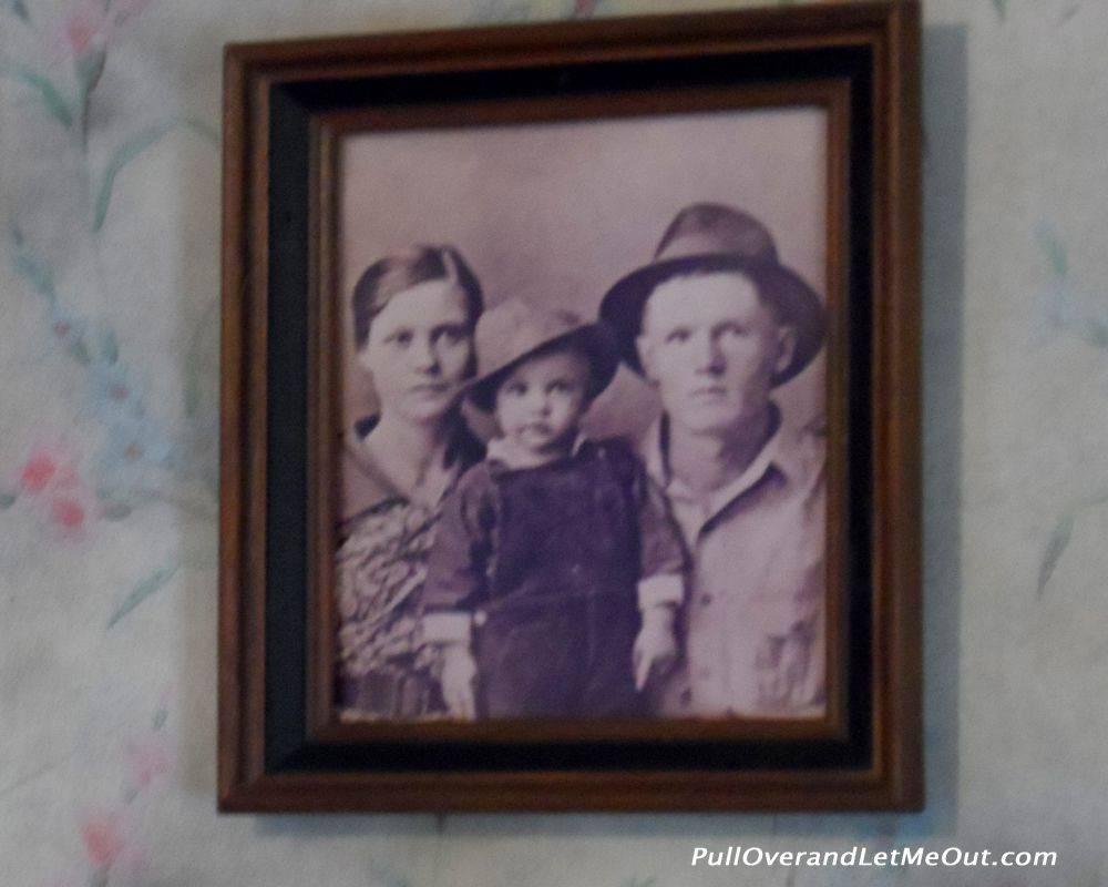 Presley family portrait.