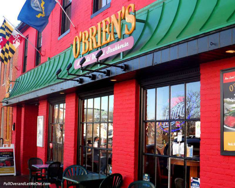 O'Brien's is one of many favorite dining destinations on the water front.