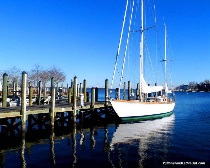 "Annapolis is nick named ""America's Sailing Capital."""