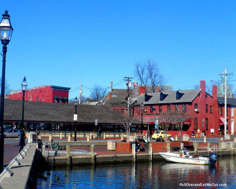 City Dock at Annapolis has been a central part of the city since the 1700's.