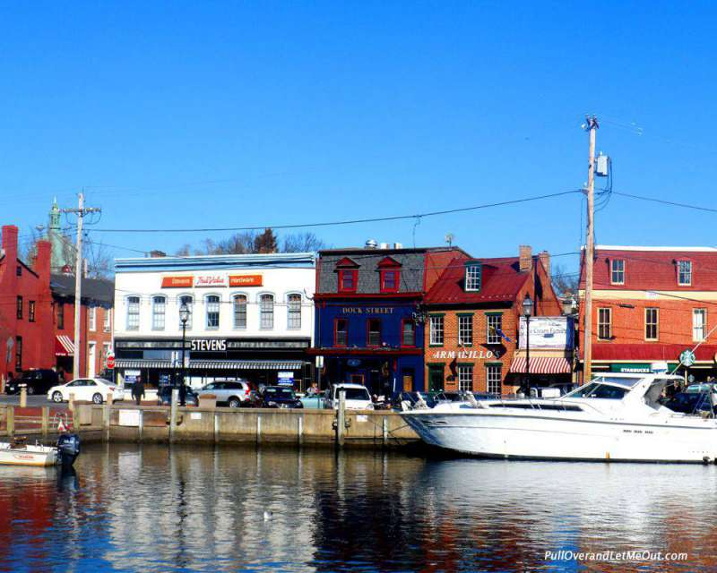 The Annapolis water front.