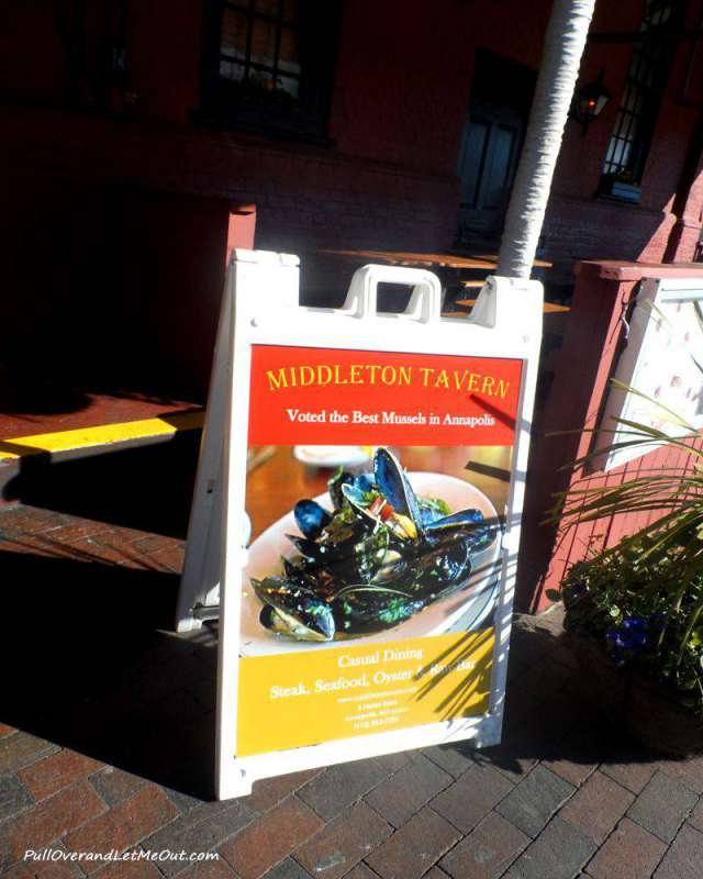 Middleton Tavern is renowned for serving the best mussels around.