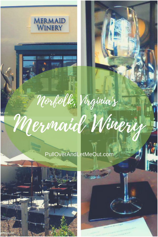 Mermaid Winery Norfolk VA pin PullOverAndLetMeOut