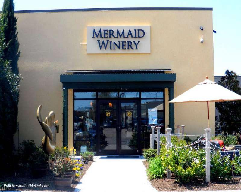 Entrance to Mermaid Winery in Norfolk, VA