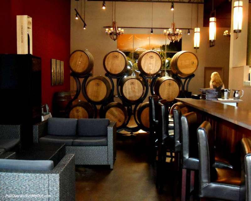 Interior of Mermaid Winery in Norfolk, VA