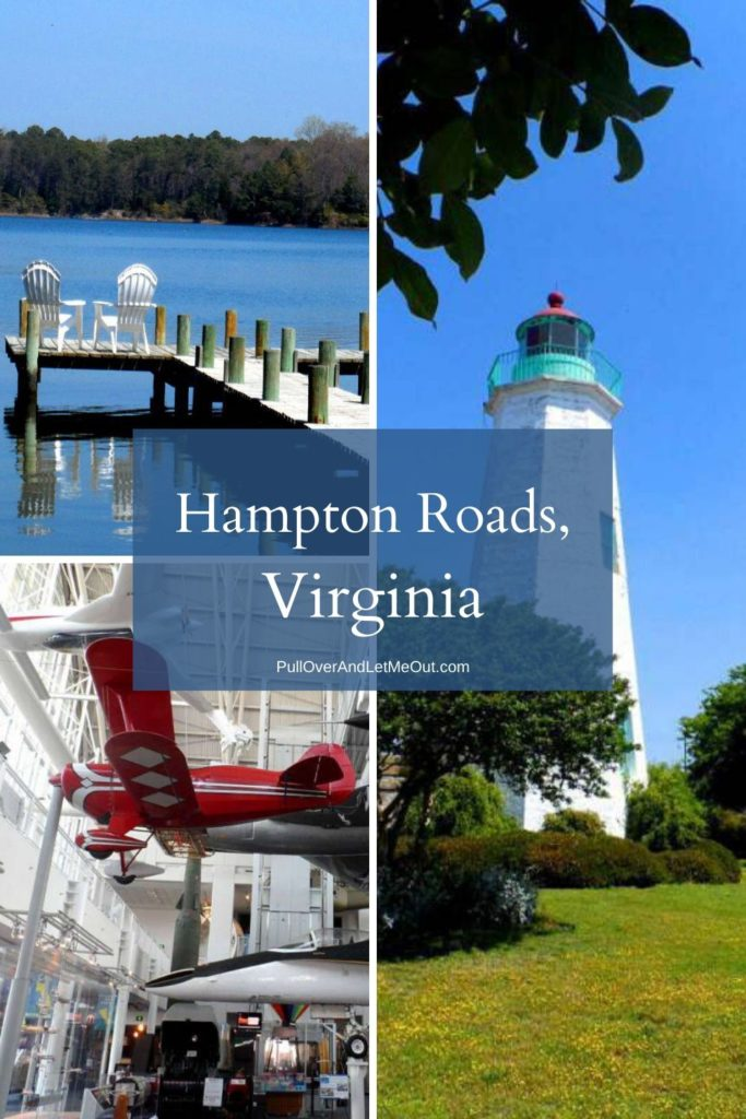 Collage of Hampton Roads scenes