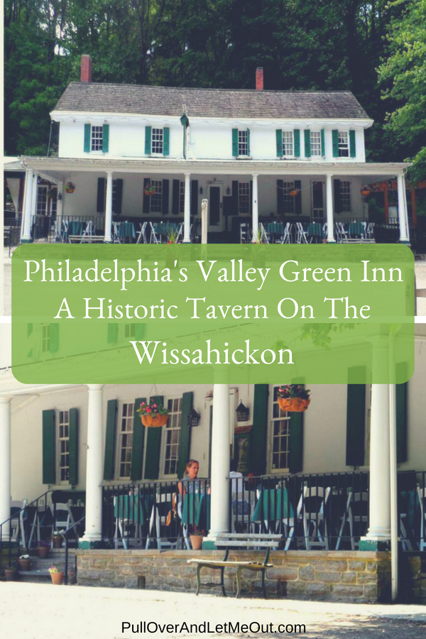 The Valley Green Inn on the Wissahickon Creek in Philadelphia has it all. Good food, great service, a historic location and beautiful scenery – it's abundantly clear why travelers have been stopping here for a warm meal for nearly two centuries. #PullOverAndLetMeOut #Restaurant #travel #Philadelphia #tavern #historical #romantic #Pennsylvania
