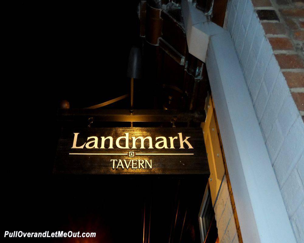 Landmark-sign