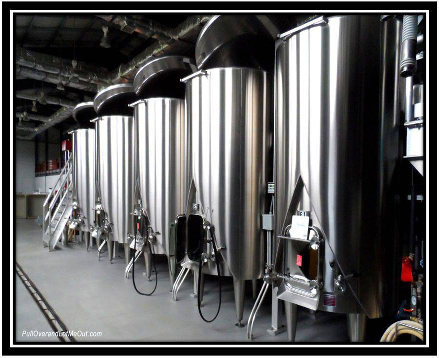 stainless steel wine takes at Early Mountain Vineyards