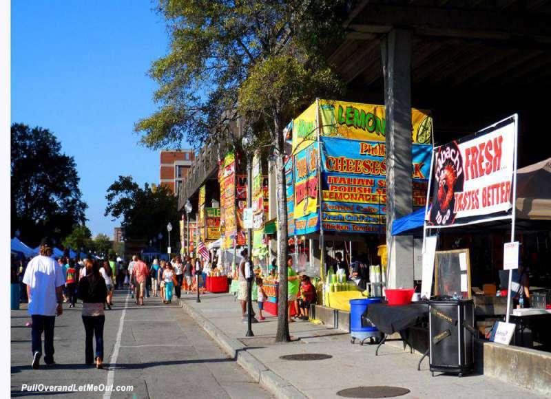 Riverfest-street