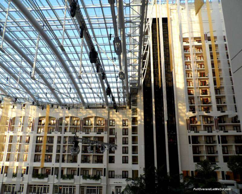 Atrium-roof