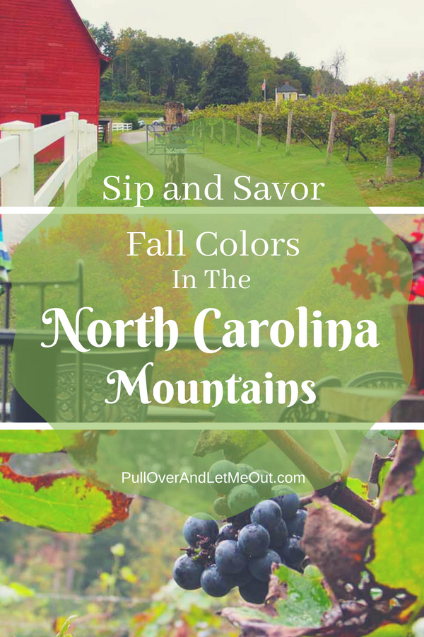 Sip and Savor Fall Colors North Carolina Mountains PullOverAndLetMeOut