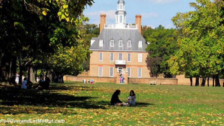The Governor's Palace at Colonial Williamsburg, Virginia