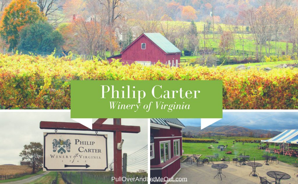 Philip Carter Winery of Virginia PullOverAndLetMeOut