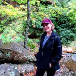 Mom-at-Linville-Caverns