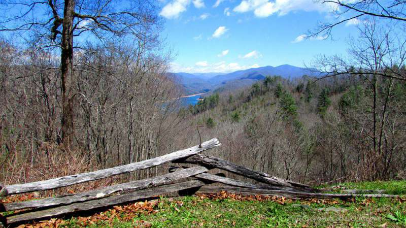 view of Smoky Mountains North Carolina