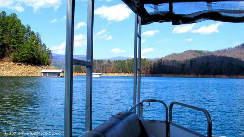 Fontana-Lake-boat-tour-Marc