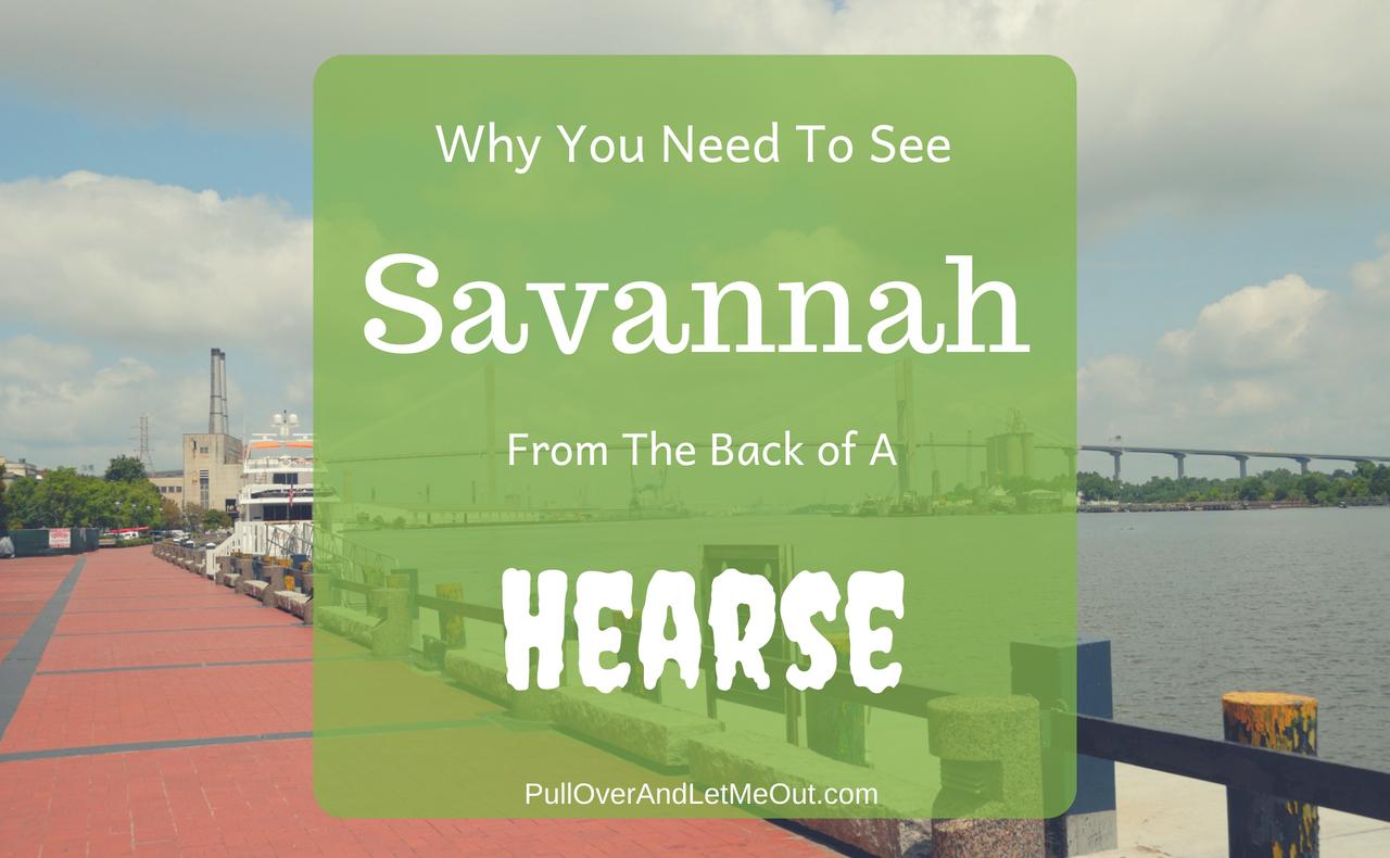 See Savannah PullOverAndLetmeOut