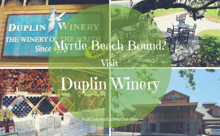 "Myrtle Beach bound? Visit Duplin Winery and ""Sip Sweet in The Sand!"""