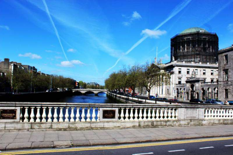 O'Connell Street Bridge Dublin May 14 2016