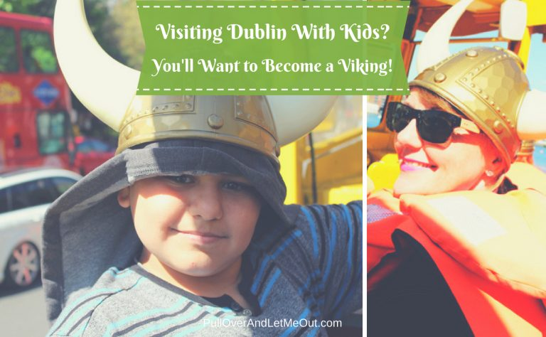 Visiting Dublin with Kids? You'll want to become a Viking