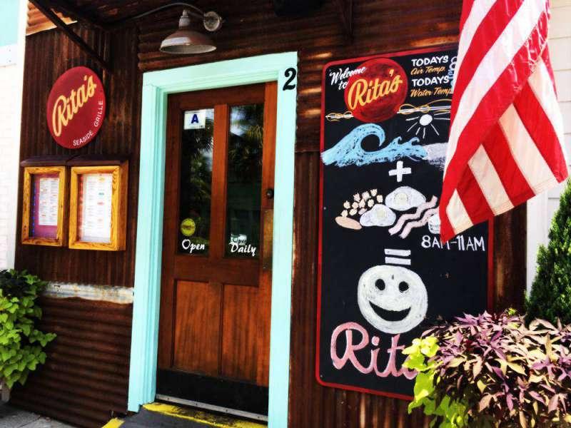 Front door at Rita's copy