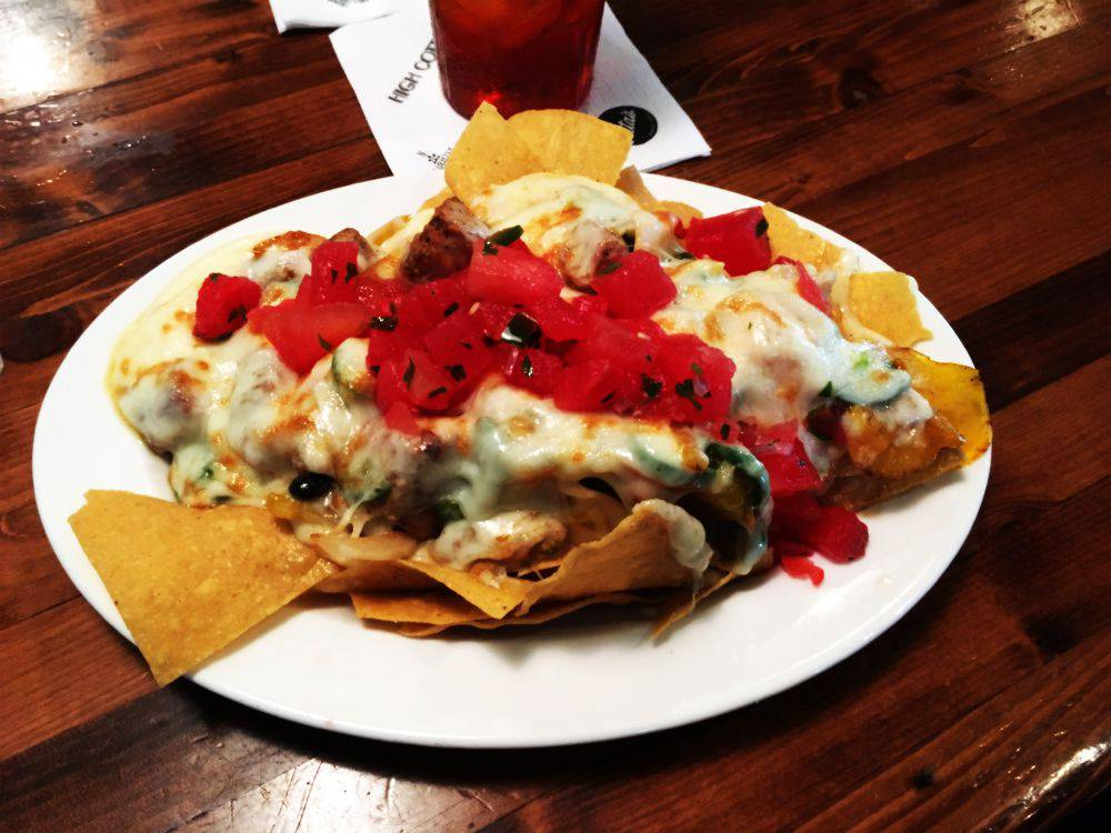 Rita's tuna nachos