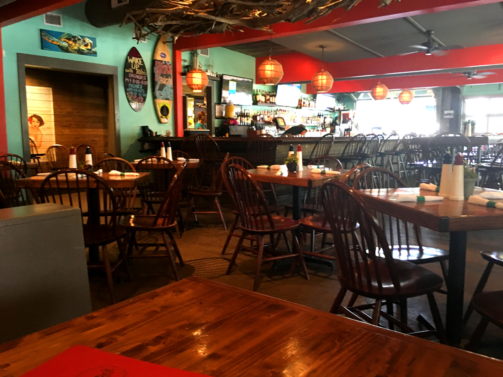 dining room Rita's Seaside Grille Folly Beach