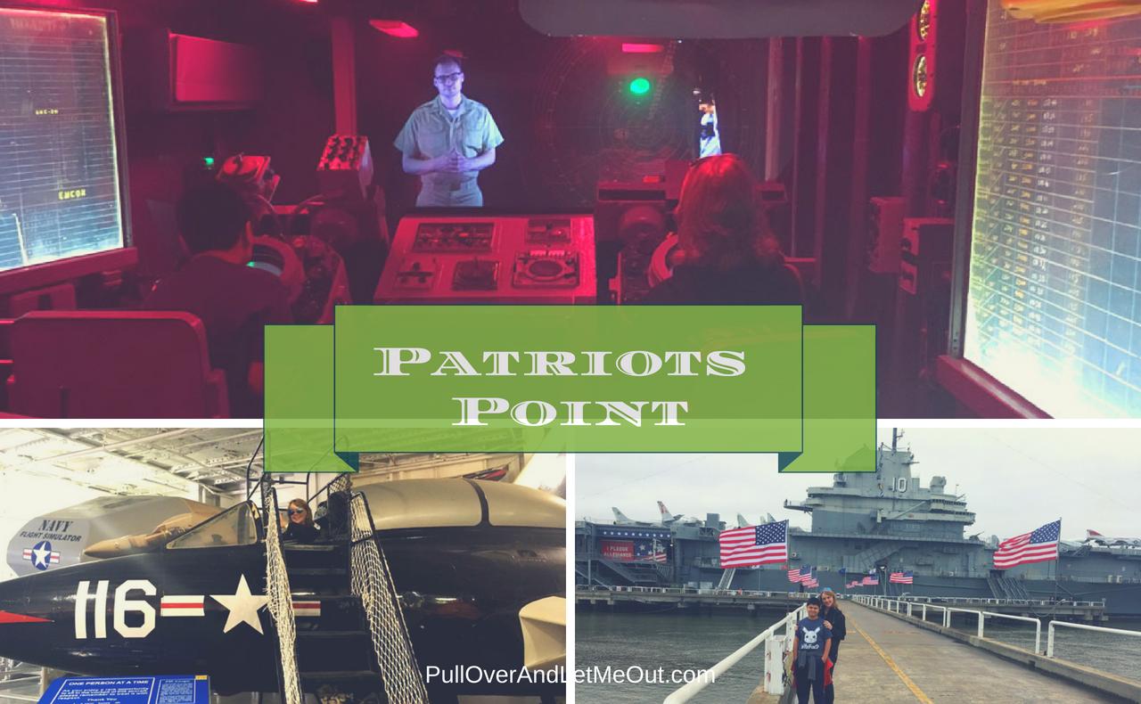 Patriots Point Charleston PullOverAndLetMeOut