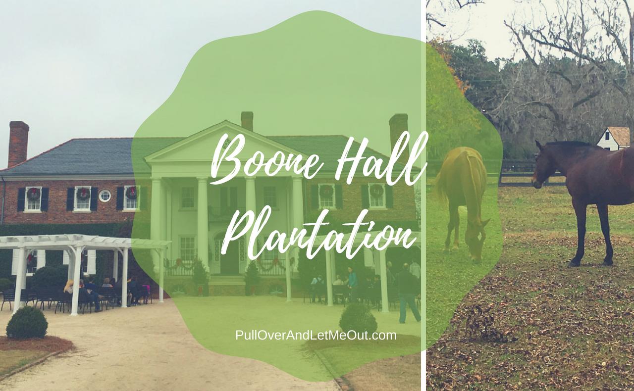 Boone HallPlantation PullOverAndLetMeOut.com