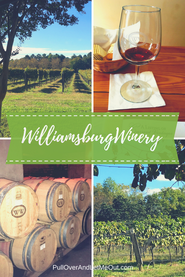 Williamsburg Winery PullOverAndLetmeOut pin