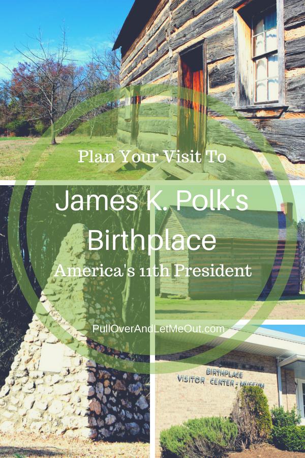 James K. Polk Pin PullOverAndLetMeOut