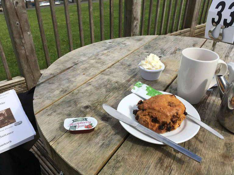 Scone at Lough Key