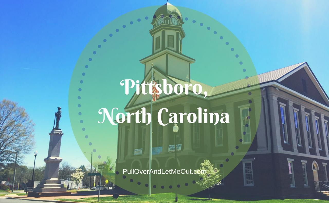 Pittsboro, North Carolina PullOverAndLetMeOut