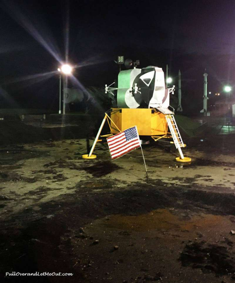 Lunar module at Space Camp Huntsville, Alabama