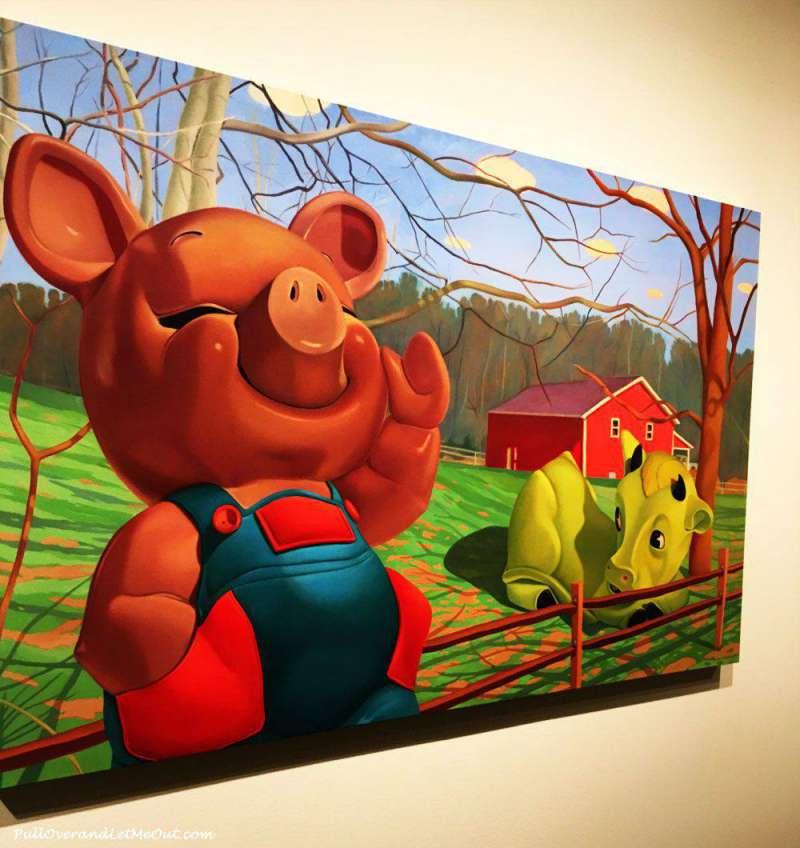 Artist, Beth Edwards Huntsville Museum of Art