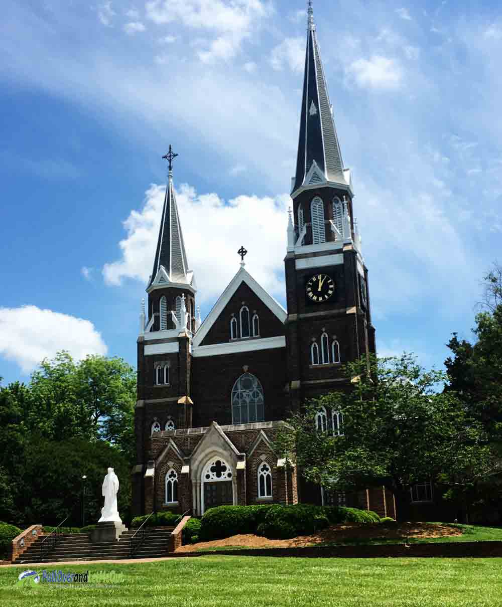 Chapel at Belmont Abbey College Belmont, NC PullOverandLetMeOut
