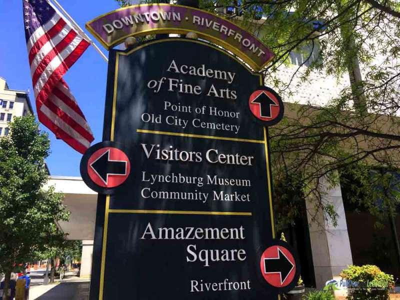 Downtown Riverfront Lynchburg, Virginia PullOverandLetMeOut