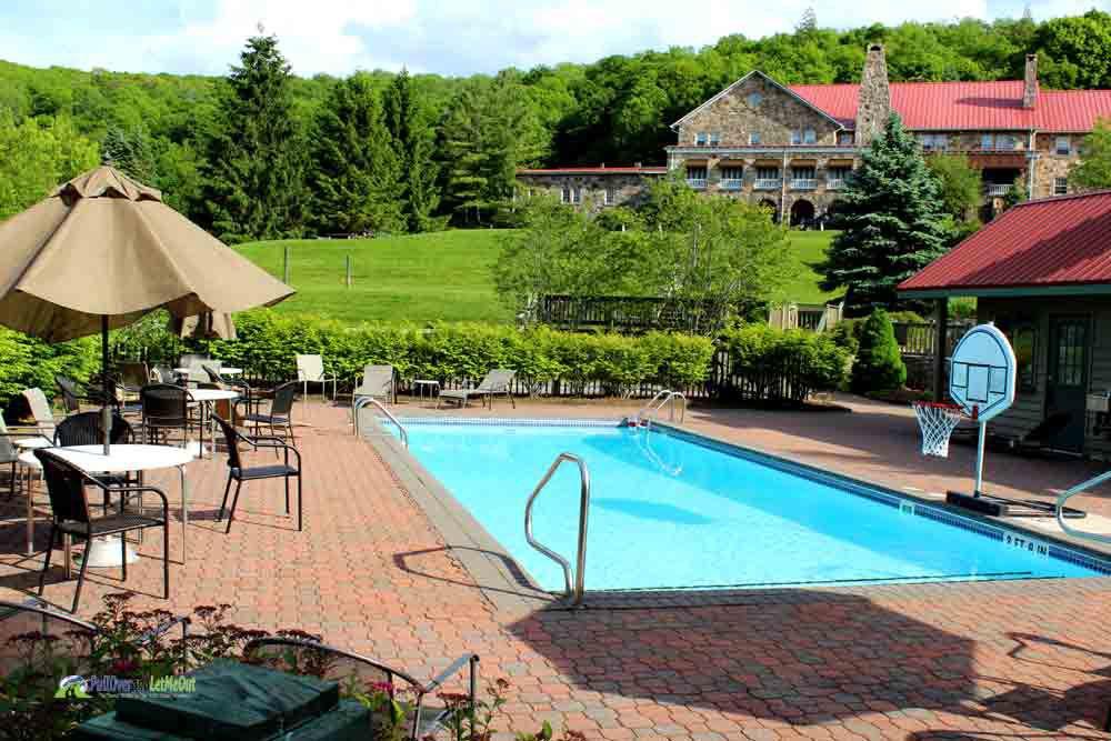 Pool at Mountain Lake Lodge Dirty Dancing