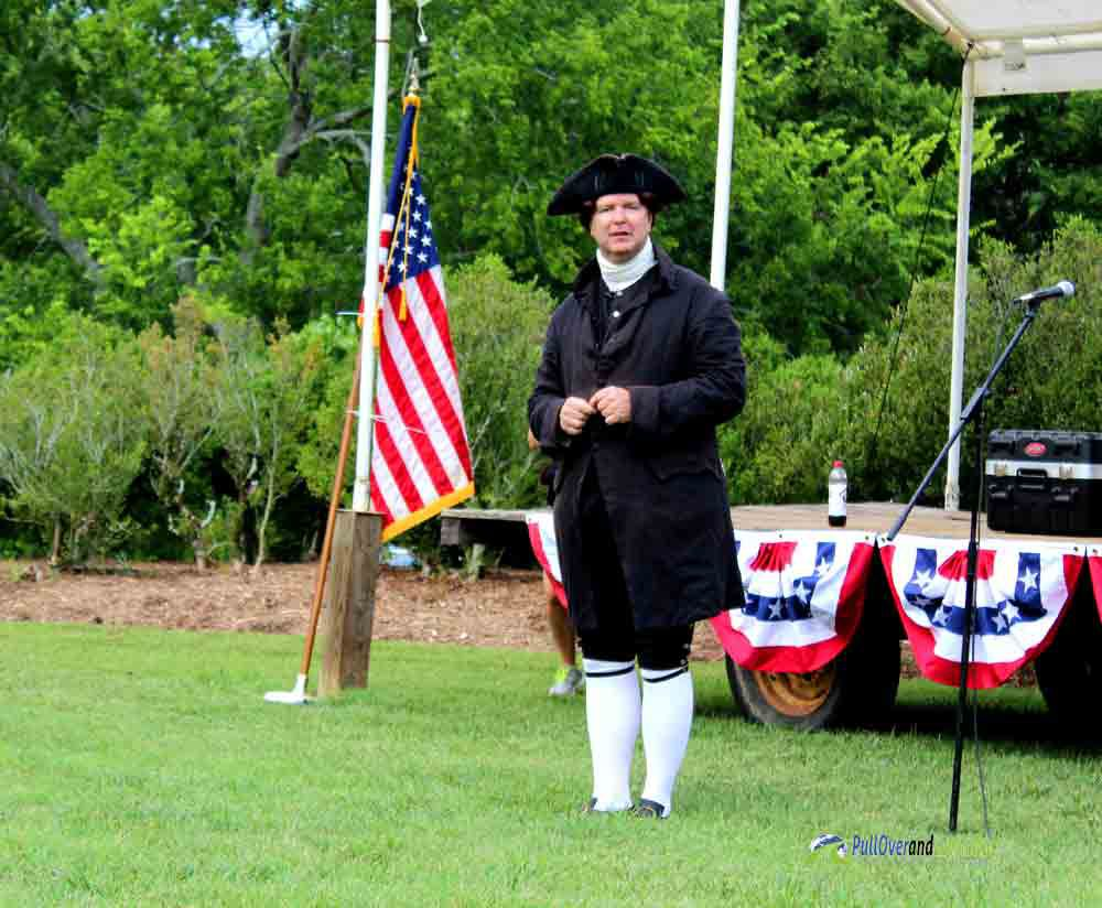 Patrick Henry at Patrick Henry's Red Hill PullOverandLetMeOut