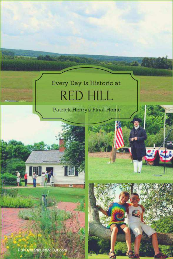 Patrick Henry's Red Hill PullOverandLetMeOut