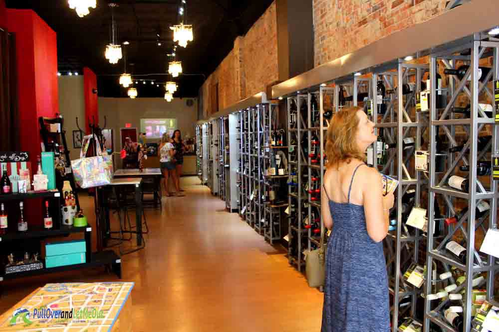 Inside Wine Cafe Fayetteville, NC PullOverandLetMeOut