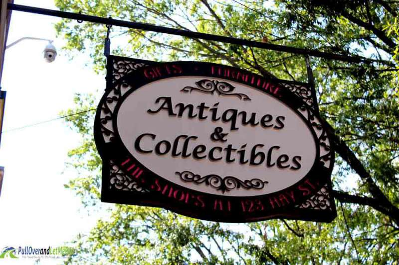 Antique sign in Fayetteville, NC