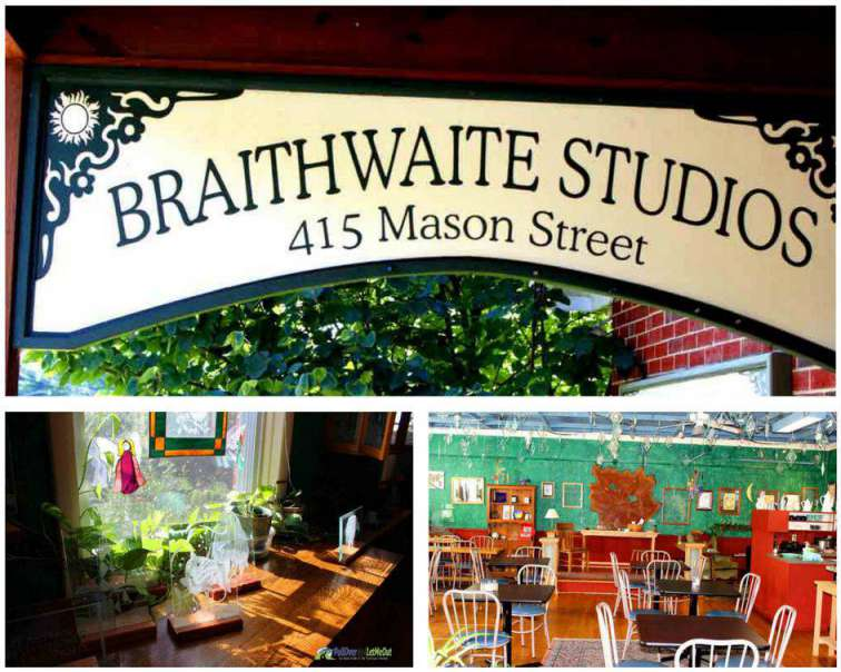 Braithwaite Studios and Cafe Harrisonburg, VA PullOverAndLetMeOut