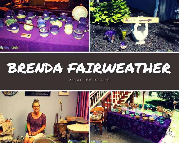 Brenda Fairweather Harrisonburg-Rockingham Artisan Trail PullOverandLetMeOut