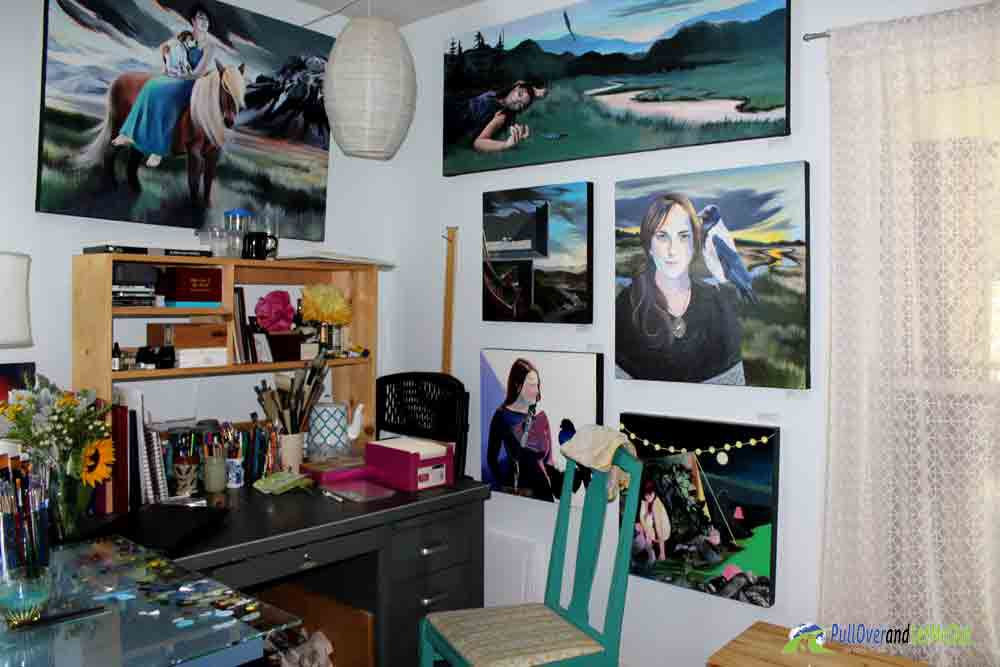 Spitzer-Gallery-art-work-Harrisonburg-Rockingham Artisan Trail PullOverandLetMeOut