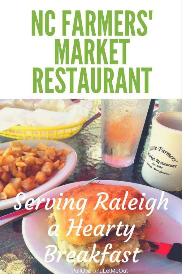 NC Farmers Market Restaurant Breakfast PullOverandLetMeOut